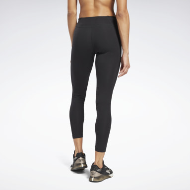 Frauen Fitness & Training Reebok Identity Leggings Schwarz
