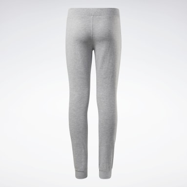 Pantaloni jogger Reebok Outline Grigio Ragazza Fitness & Training