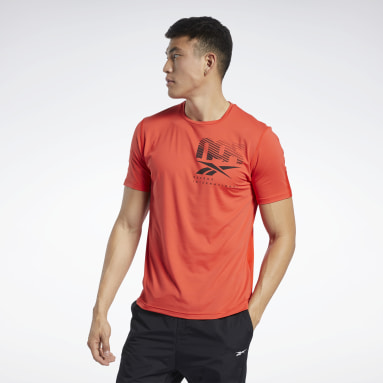 Men Cycling Red ACTIVCHILL Graphic Move T-Shirt