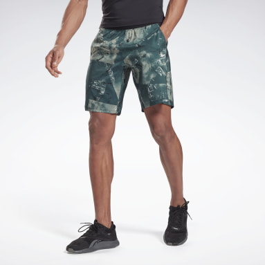 Men Cross Training Green Epic Lightweight Shorts
