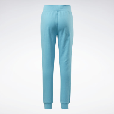Pantaloni jogger Reebok Outline Turchese Ragazza Fitness & Training