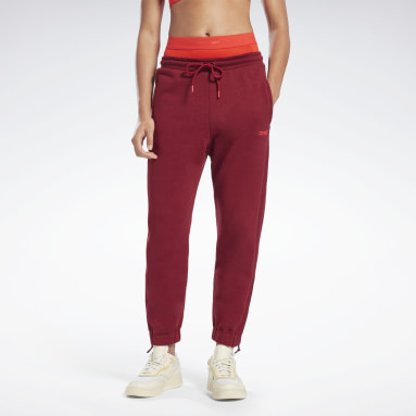 Women Fitness & Training Burgundy VB Jogger