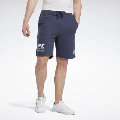 Men Combat Blue UFC Fan Gear Fight Week Shorts