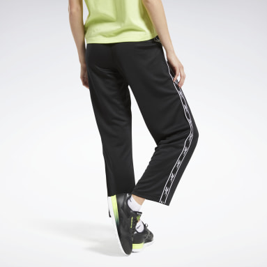 Women Classics Black Classics Vector Tape Pants