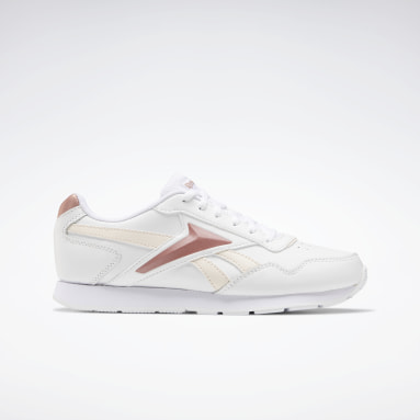 Women Classics White Reebok Royal Glide Shoes
