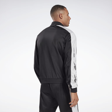 Men Fitness & Training Black Training Essentials Vector Track Jacket