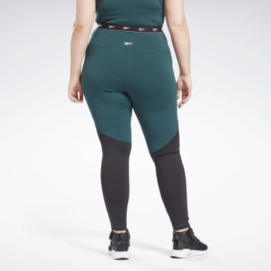 Women Cycling Green Beyond The Sweat Leggings (Plus Size)