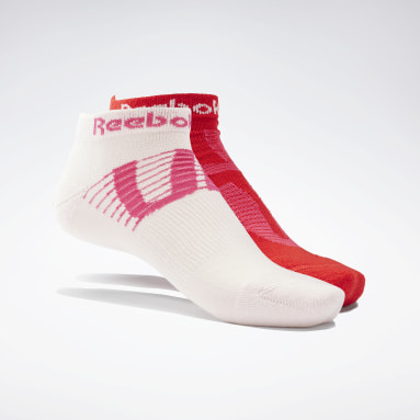 Women Running Red Run Club Socks 2 Pairs