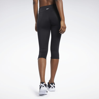 Women Fitness & Training Black Workout Ready Capri Tights