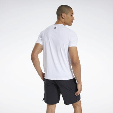 RC ACTIVCHILL Tee Bianco Uomo Cross Training