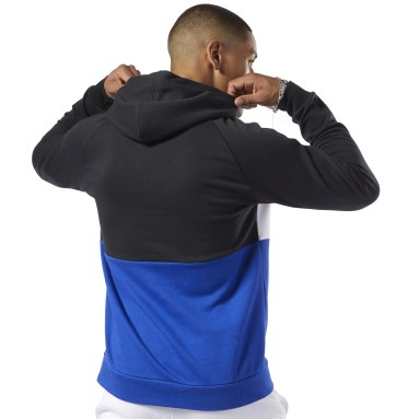 Buzo con capucha Training Essentials Linear Logo Negro Hombre Fitness & Training
