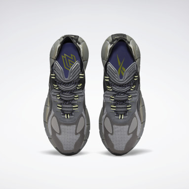 Running Grey Zig Kinetica Surge II Shoes