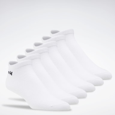 Fitness & Training White Active Core Low-Cut Socks 6 Pairs