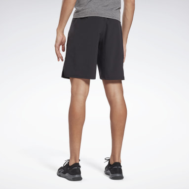 Men Training Black Speed Shorts