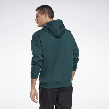 Men Fitness & Training Green MYT Hoodie