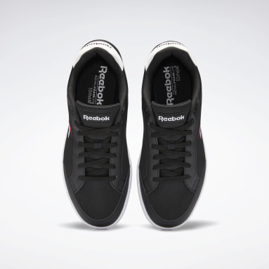 Classics Black Reebok Vector Smash Shoes