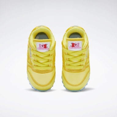 Zapatillas Peppa Pig Classic Leather Amarillo Niño Classics