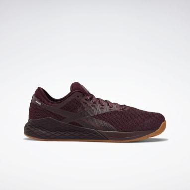 Men Fitness & Training Burgundy Reebok Nano 9 Men's Training Shoes