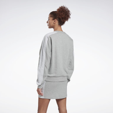 Women Fitness & Training Grey MYT Crew Sweatshirt