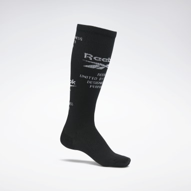 Studio Compression Knee Socks Schwarz