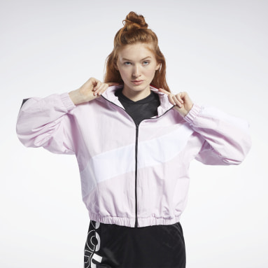 Frauen Fitness & Training Meet You There Jacket Rosa