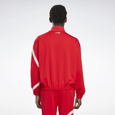 Sweat à col montant Reebok by Pyer Moss Red Classics