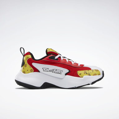 Women Classics Red Tom and Jerry Vector Runner Women's Shoes