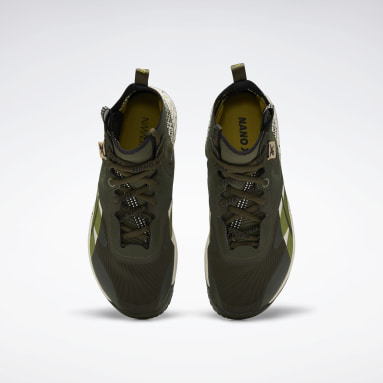 Men Cross Training Green Nano X Unknown Men's Training Shoes