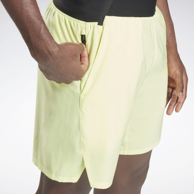 Men Training Yellow Epic Lightweight Shorts