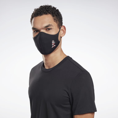 Mascarilla Icons talla M/L (pack de 3) Negro Fitness & Training