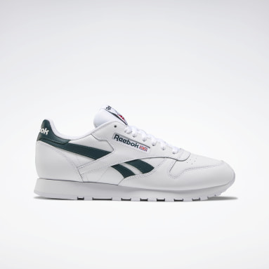 Men Classics White Classic Leather Shoes