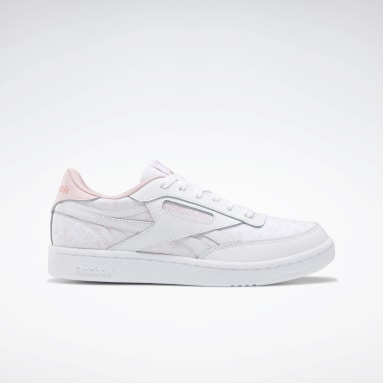 Girls Classics White Club C Revenge Shoes