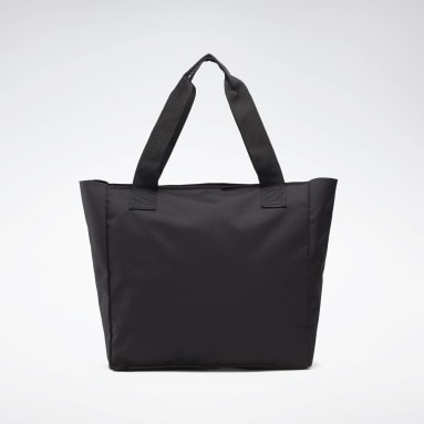 Women Fitness & Training Black Essentials Tote Bag
