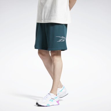 Men Classics Green Classics Knit Shorts