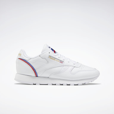Women Classics White Classic Leather Shoes