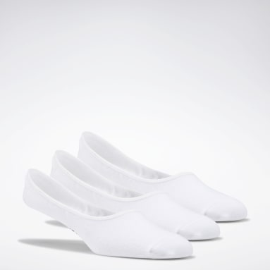 Fitness & Training White Active Foundation Invisible Socks 3 Pairs