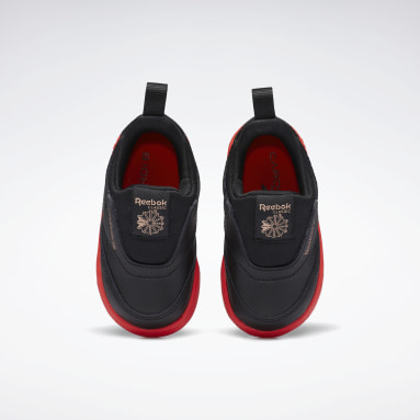 Boys Classics Black Club C Cardi B Slip-On III Shoes