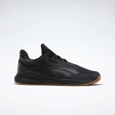 Men Cross Training Black Reebok Nano X Shoes