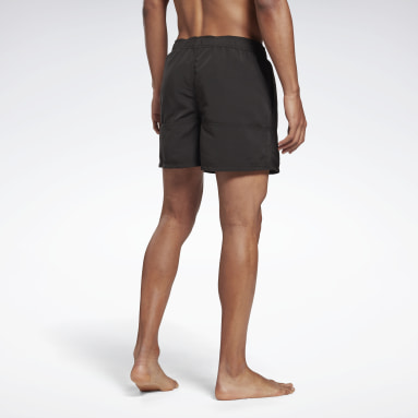 Men Swimming Black Reebok Tupper Swim Shorts