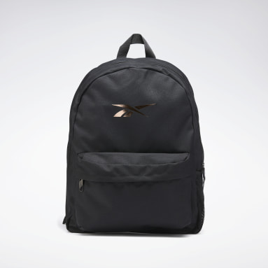 Outdoor Rose Gold Black Backpack Schwarz