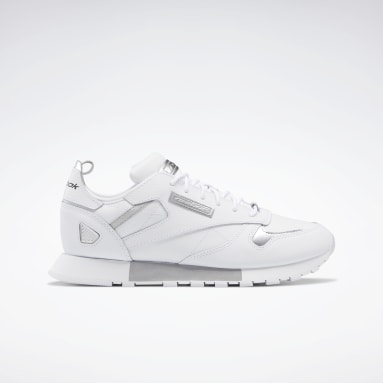 Classic Leather Ree:Dux Blanco Mujer Classics