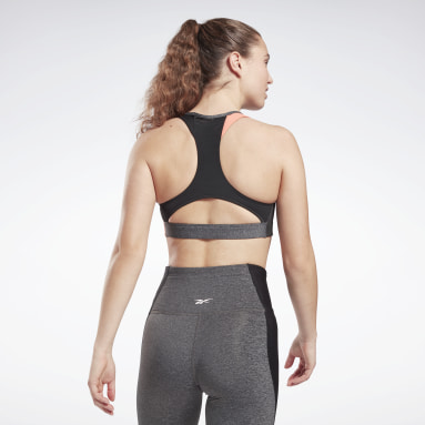 Bra Lux Racer Padded Sports Grigio Donna Ciclismo