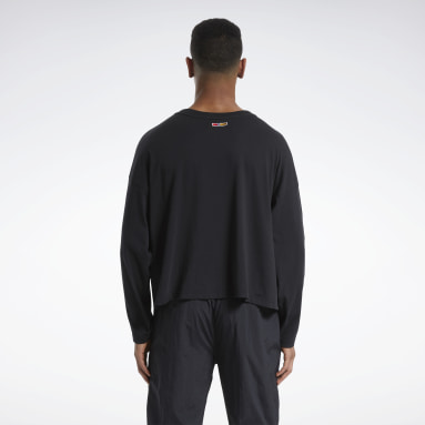 Classics Black Reebok by Pyer Moss Long Sleeve T-Shirt