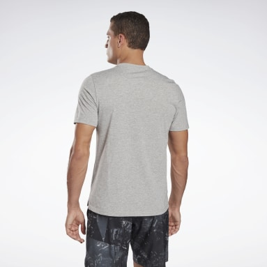 Men Pilates Grey Speedwick Move T-Shirt