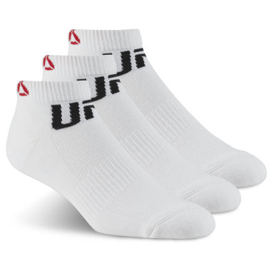 Cross Training White UFC Fan Inside Sock