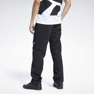 Men Classics Black Classics Washed Tracksuit Bottoms