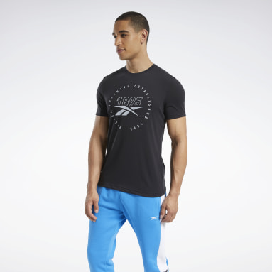 Men Cross Training Black Graphic Series Speedwick Tee