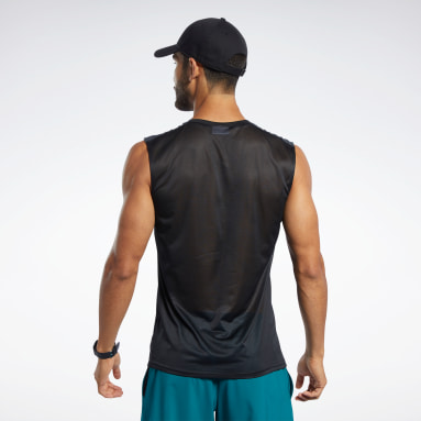 Men Training Black Workout Ready Tech Tee