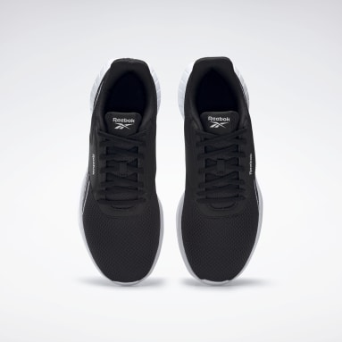 Men Running Black Reebok Lite 2.0 Shoes