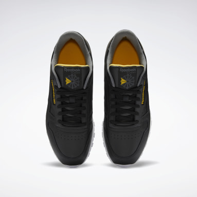 Men Classics Black Classic Leather Shoes